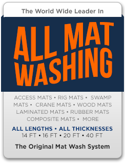 swamp mat cleaning equipment